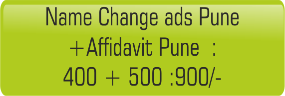 Name change & affidavit Pune